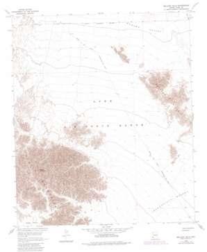 Wellton Hills topo map