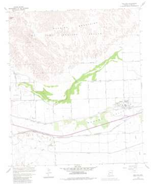 Wellton topo map