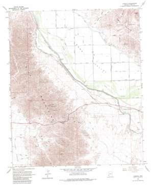 Ligurta topo map
