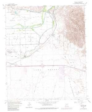 Fortuna topo map