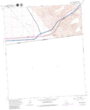 Grays Well topo map