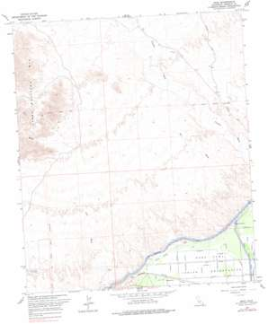 Araz topo map