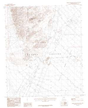 Middle Mountains South topo map