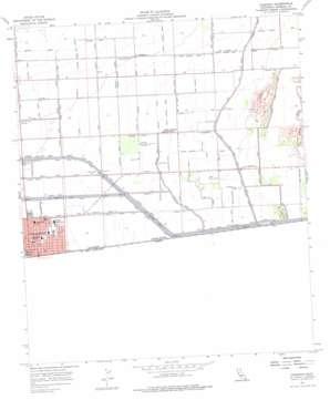 Calexico topo map