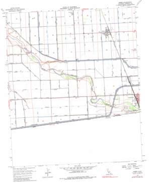 Heber topo map
