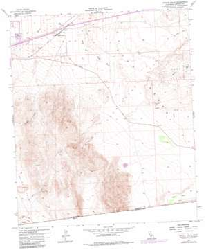 Coyote Wells topo map
