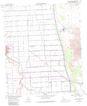 Holtville East topo map