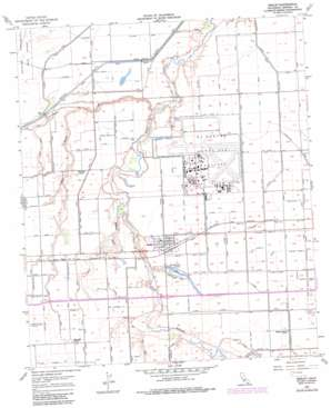 Seeley topo map