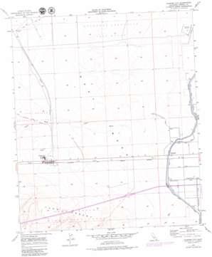Plaster City topo map