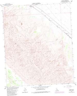 Glamis topo map