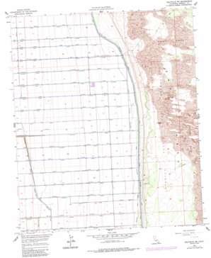Holtville Ne topo map