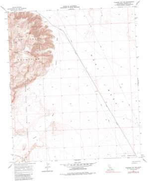 Plaster City Nw topo map