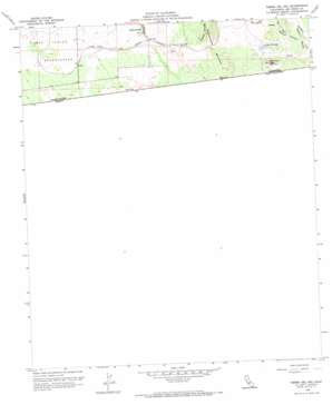Tierra Del Sol topo map