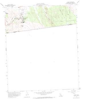 Campo topo map