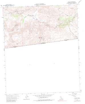 Tecate topo map