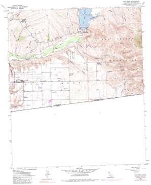 Otay Mesa topo map