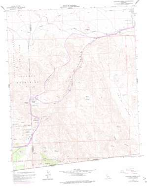 In-Ko-Pah Gorge USGS topographic map 32116f1