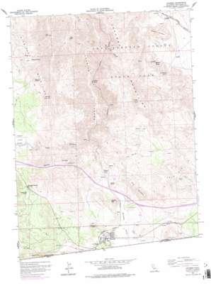 Jacumba topo map