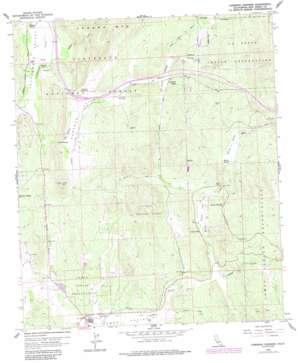 Cameron Corners USGS topographic map 32116f4