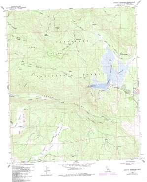 Morena Reservoir USGS topographic map 32116f5