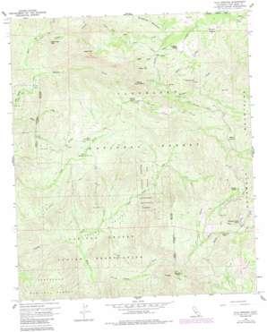 Tule Springs topo map