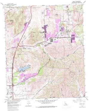 Poway topo map