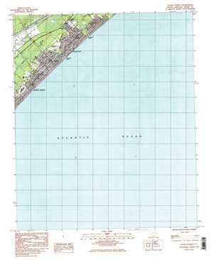 Ocean Forest topo map