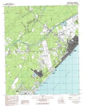 Myrtle Beach topo map