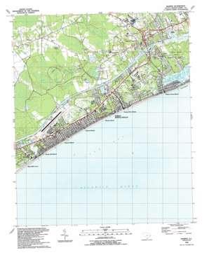 Wampee topo map