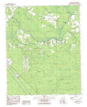 Nixonville topo map