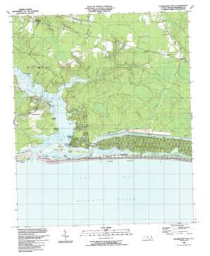 Lockwoods Folly USGS topographic map 33078h2
