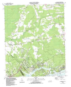 Calabash topo map