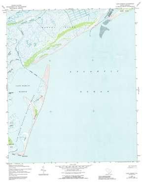 Cape Romain topo map