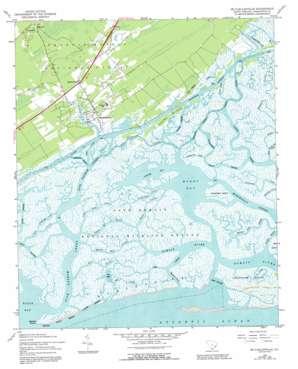 Mcclellanville topo map