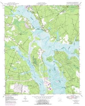 Kittredge topo map