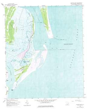 Santee Point USGS topographic map 33079b2