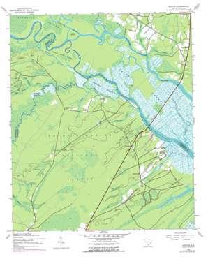 Santee topo map