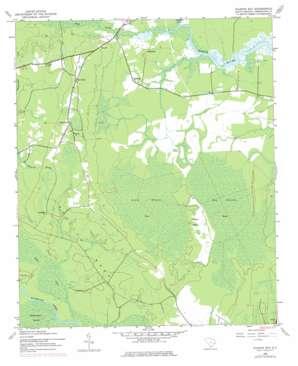 Kilsock Bay topo map