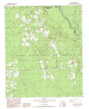 Wedboo Creek topo map