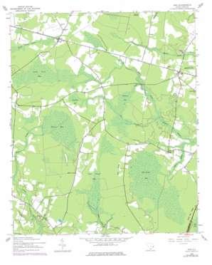 Trio topo map
