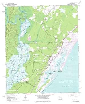 Brookgreen topo map