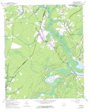 Rhems topo map