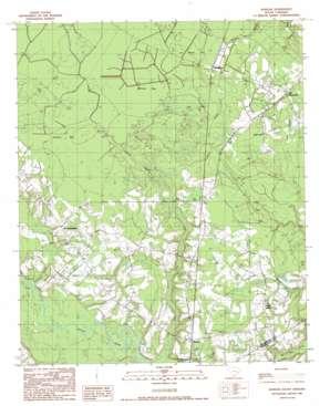 Warsaw topo map