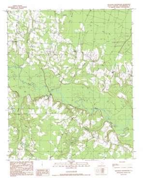 Kellehan Crossroads topo map