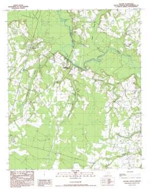 Salters topo map