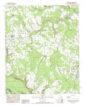Greeleyville USGS topographic map 33079e8