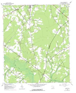 Henry topo map