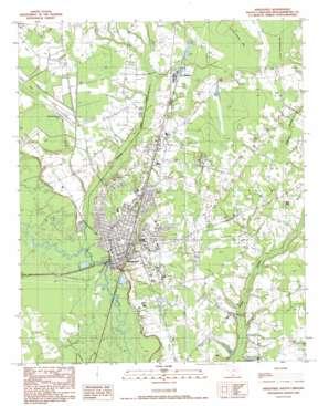 Kingstree topo map