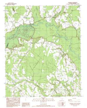Workman topo map