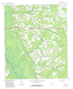 Dongola topo map